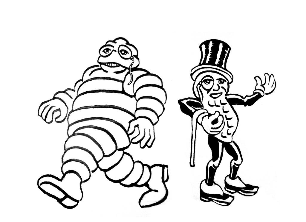 1024x746 Peanut Drawing Peanut Mr For Free Download