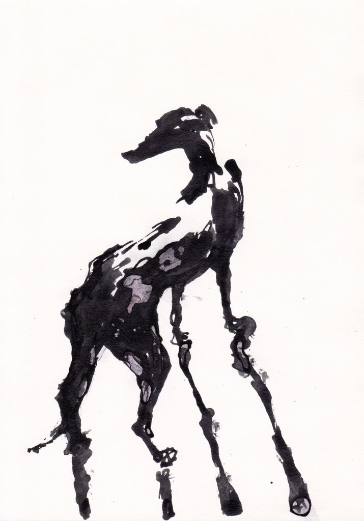 715x1024 Inky Animals