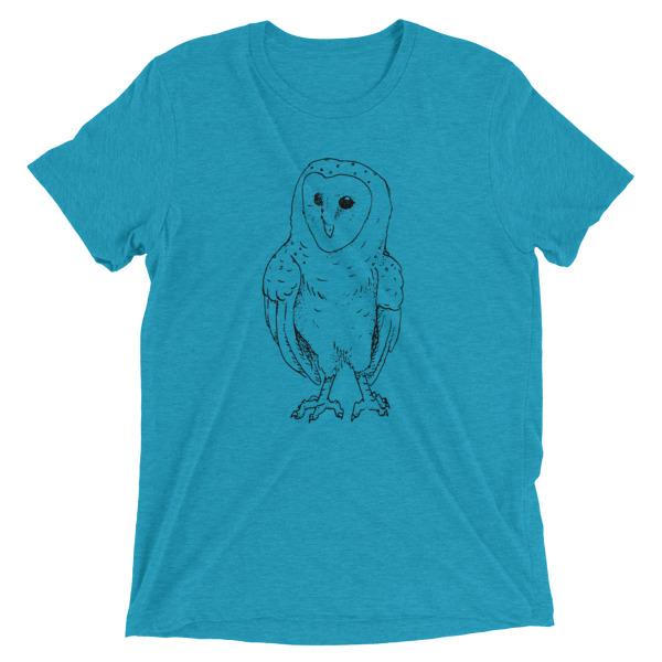 600x600 Pen Ink Barn Owl On Storenvy