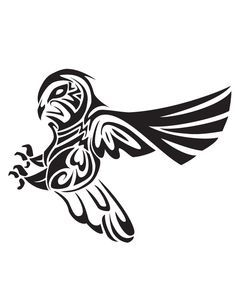 236x305 Tribal Owl Tattoo
