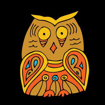 360x360 Worried Owl Jana Miller Portfolio