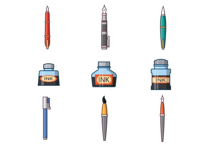 700x490 Free Ink Pen Vector