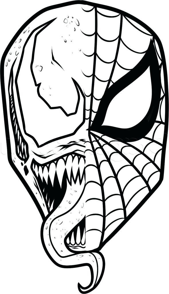 590x1024 Easy Spiderman Drawings Pencil Drawings Of Sketch Spiderman Easy