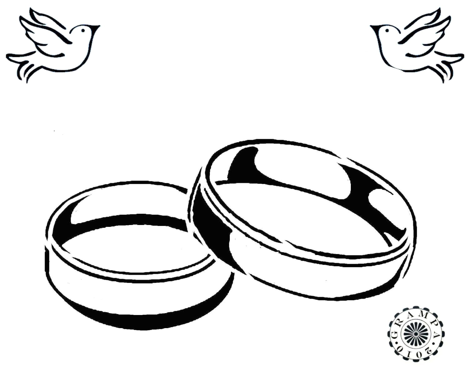1500x1200 Wedding Rings Drawing Drawn Ring Marriage Pencil And In Color