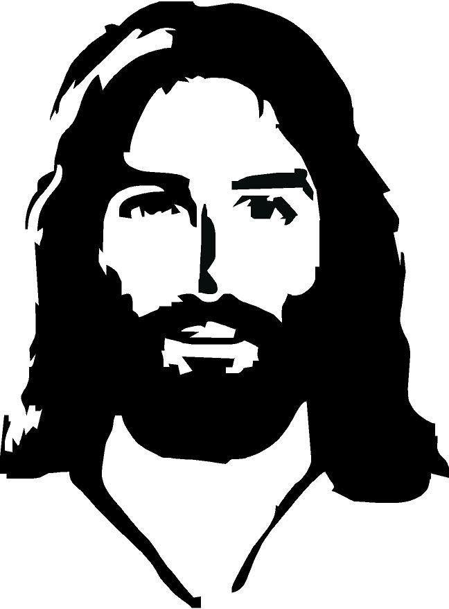 648x878 jesus face vinyl decal inspirational vinyl decals
