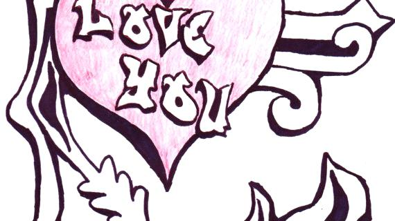 570x320 i love you drawings i love you drawings i love you drawings