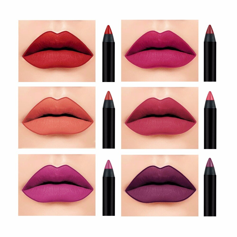 1000x1000 waterproof drawing lip pen colors lip liner long