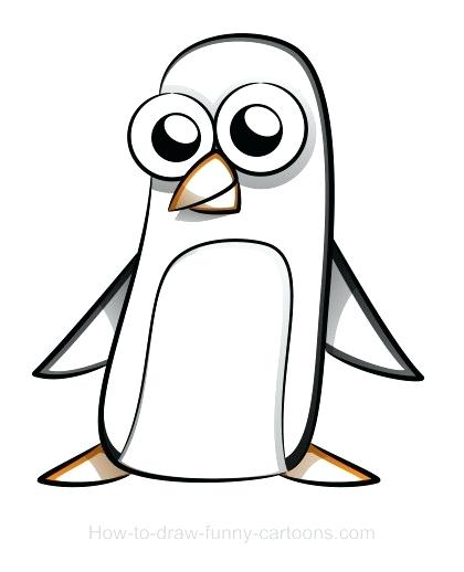 420x518 easy to draw penguin penguin drawings easy to draw penguin images