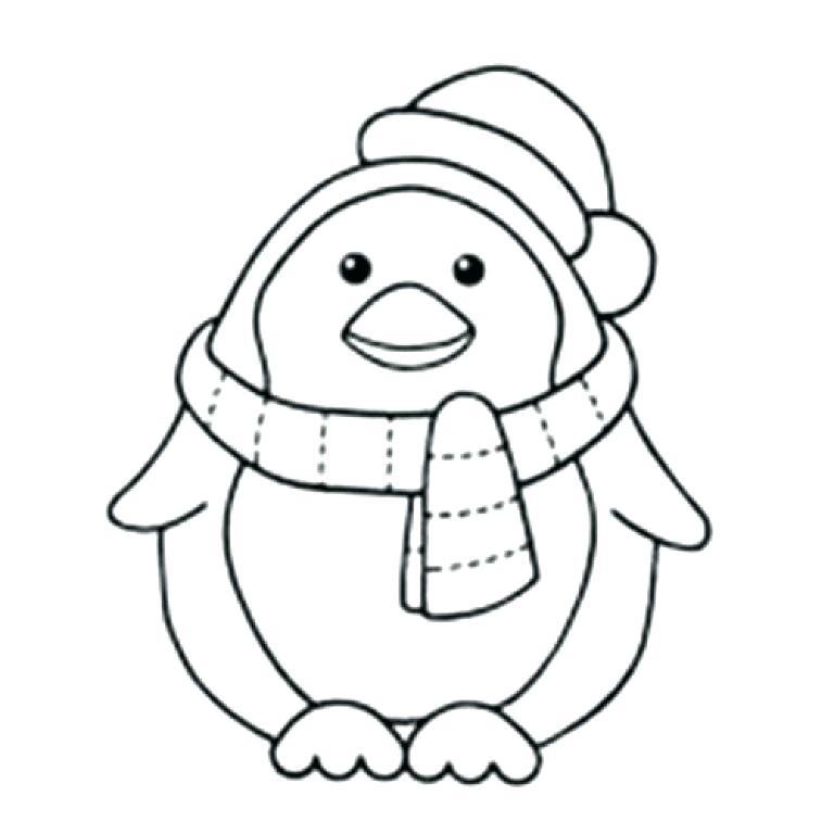 768x768 simple penguin drawing penguin drawings cute simple penguin