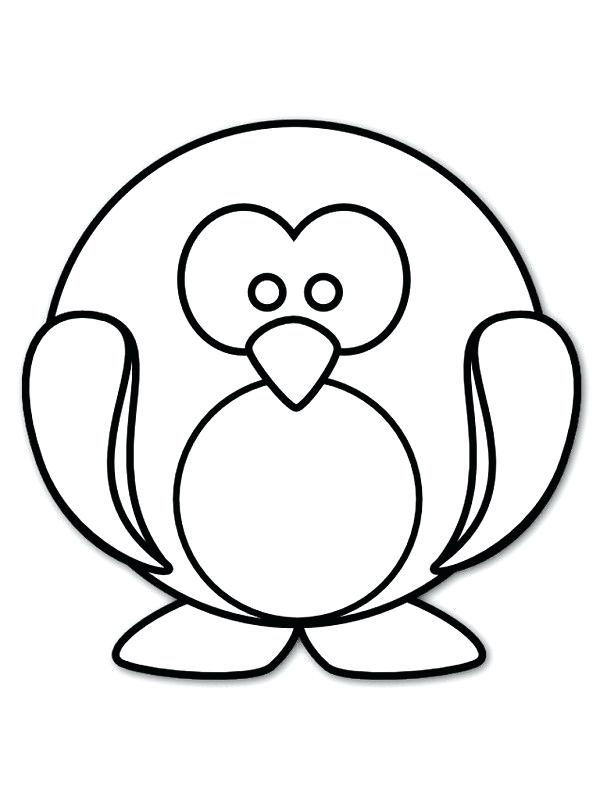 600x800 simple penguin drawing simple penguin simple penguin line drawing