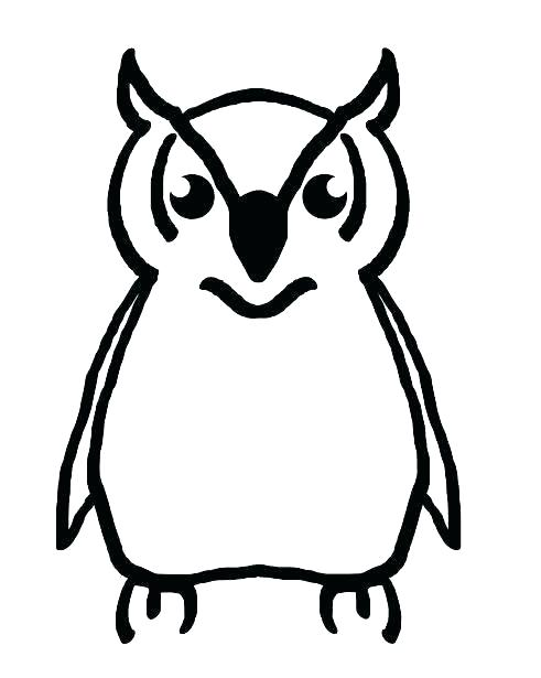 491x615 owl drawing outline owl outline drawing owl outline drawing