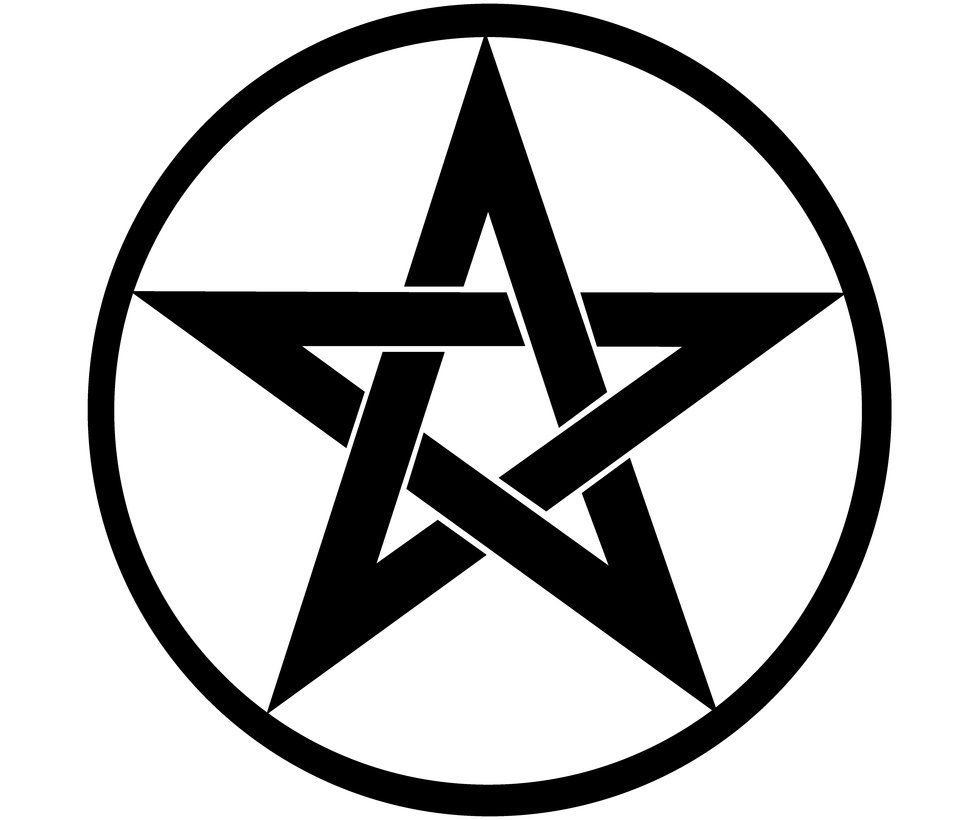 974x820 overlapping pentacle p star tattoos, pentacle, tattoos