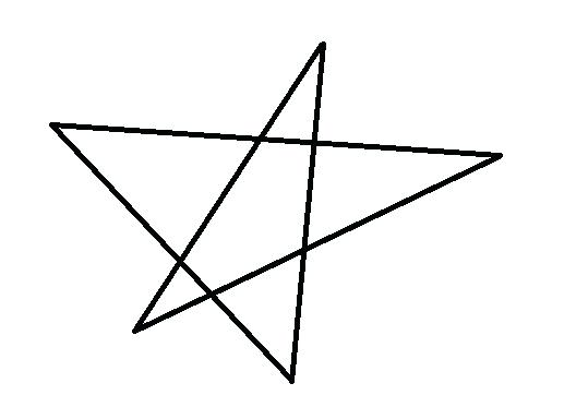 528x384 how to draw a perfect pentagram math irregular star math games