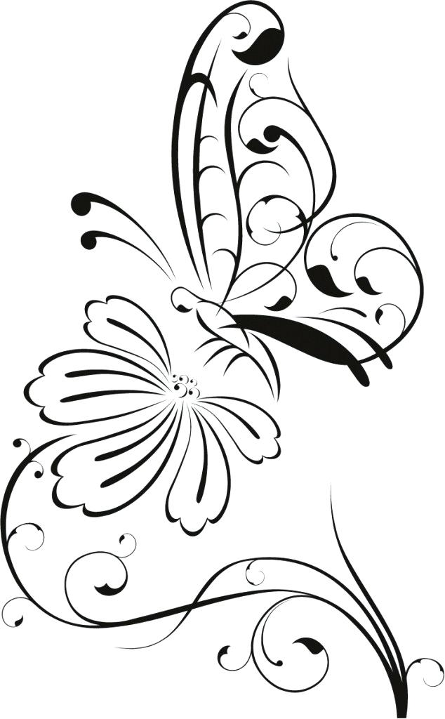 634x1024 flower drawing clipart bouquet flower drawing flower border