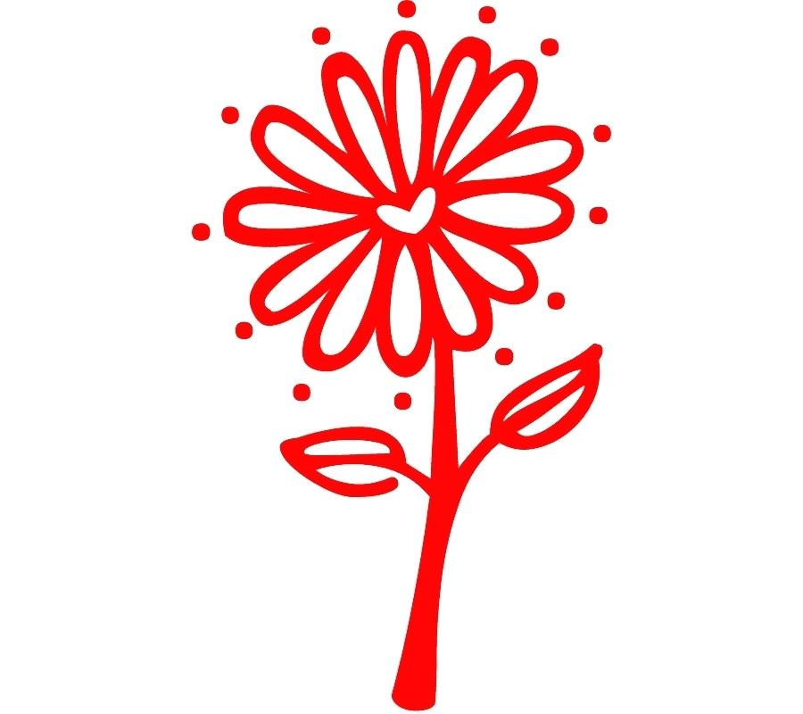 900x800 flower drawing clipart red flower clip art simple flower drawing
