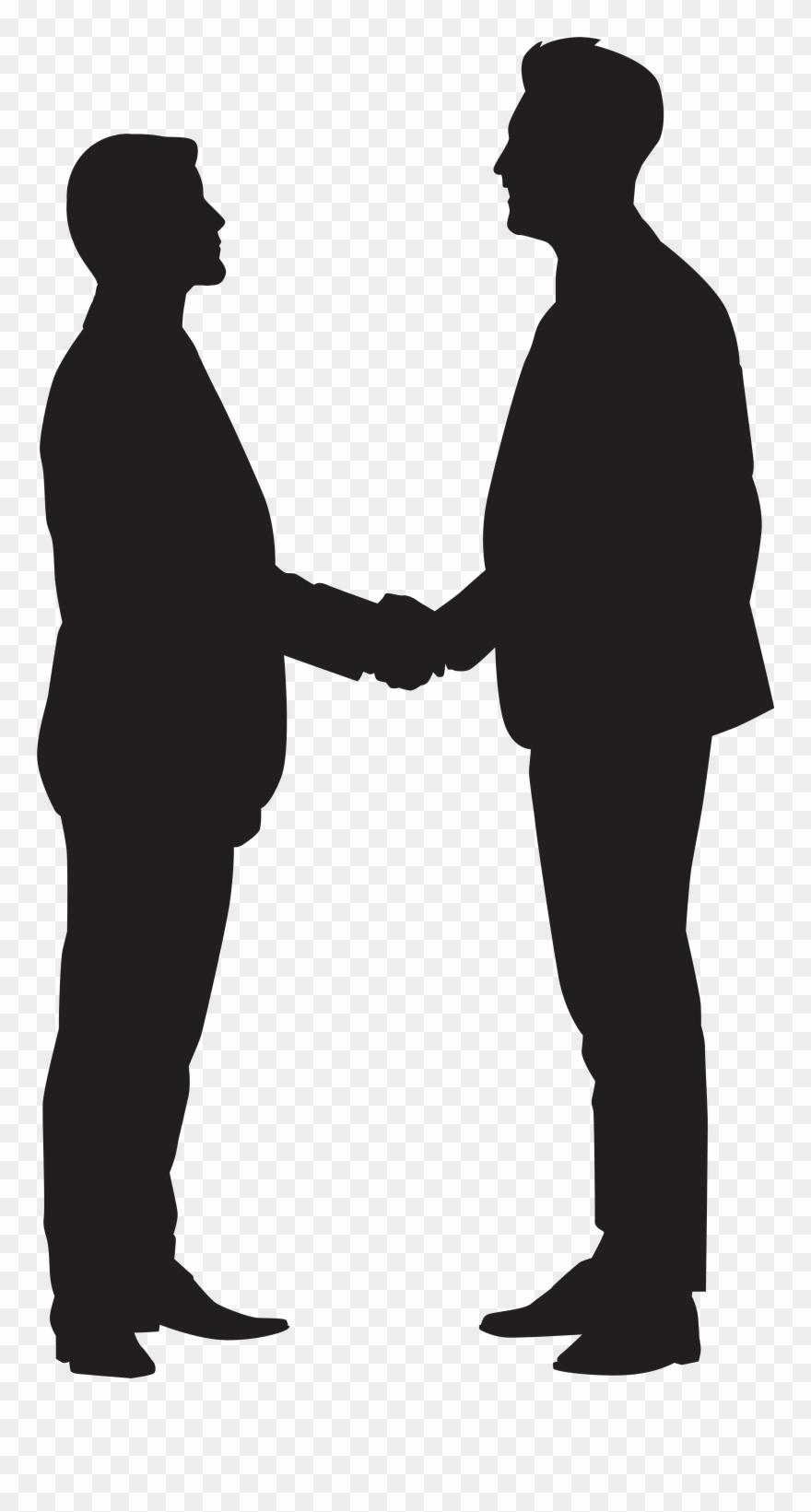 880x1641 Men Shaking Hands Clipart