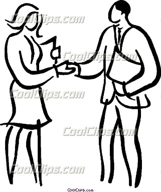 321x383 People Shaking Hands Drawing