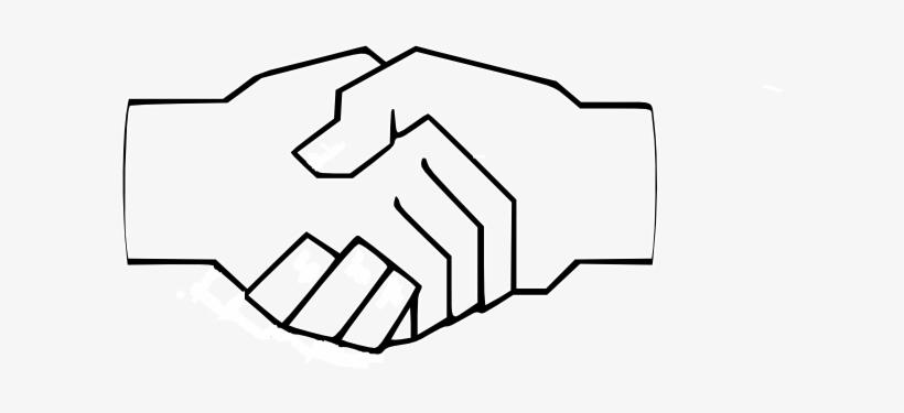 820x375 Simple Handshake Clip Art At Clker