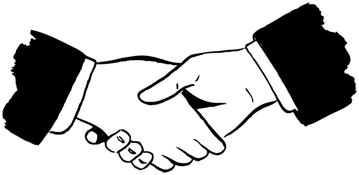 1200x585 Handshake Drawing Reference For Free Download