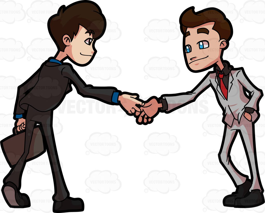 1024x822 Two People Shaking Hands Clipart Clipart Station