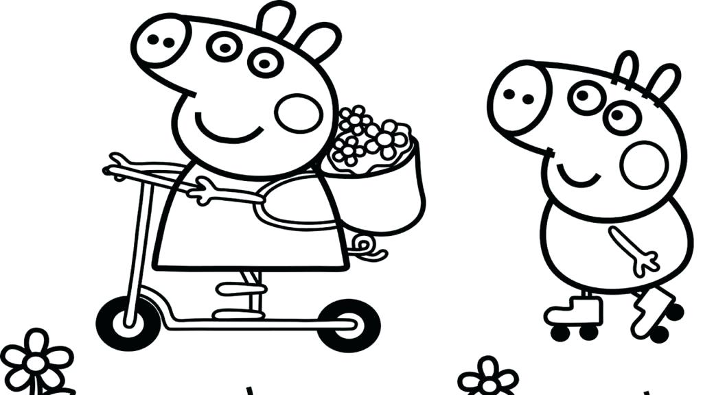 1024x576 Peppa Pig Coloring Last Updated Peppa Pig Coloring Sheet