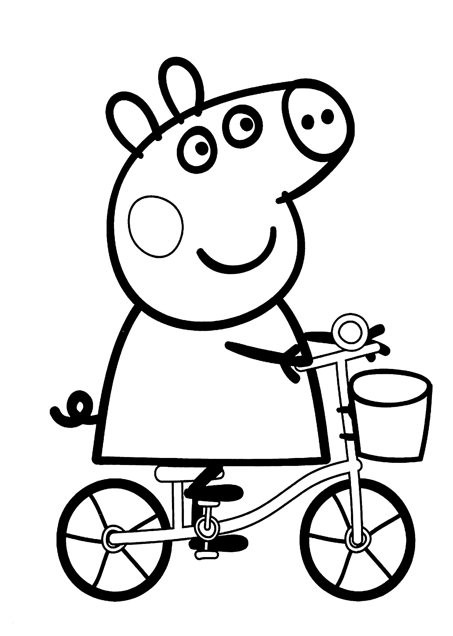 1483x2079 Peppa Pig Coloring New Image Peppa Pig Movie Coloring Book Pages
