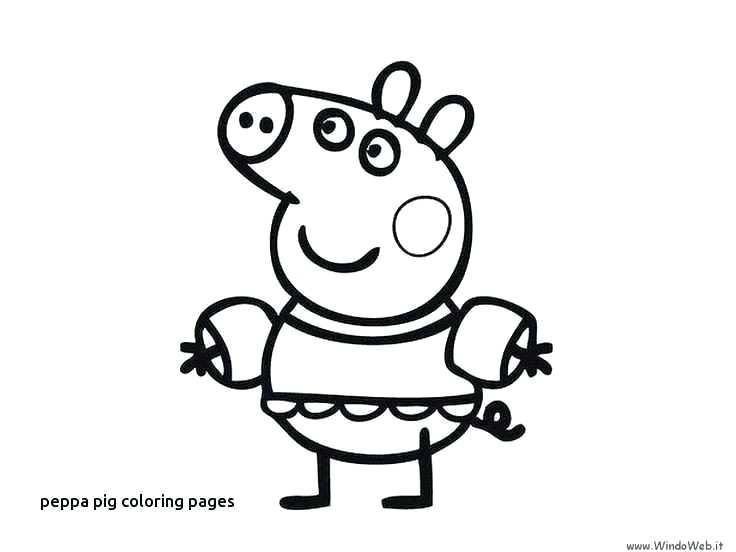 736x552 Peppa Pig Coloring