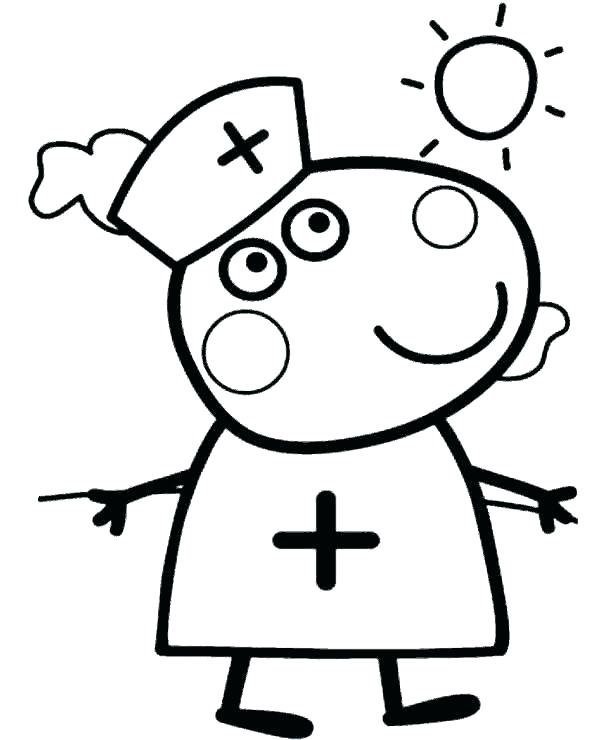 600x740 peppa pig colouring pages online pig coloring pages peppa pig