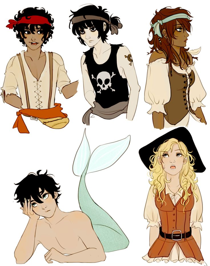 Percy Jackson Drawings