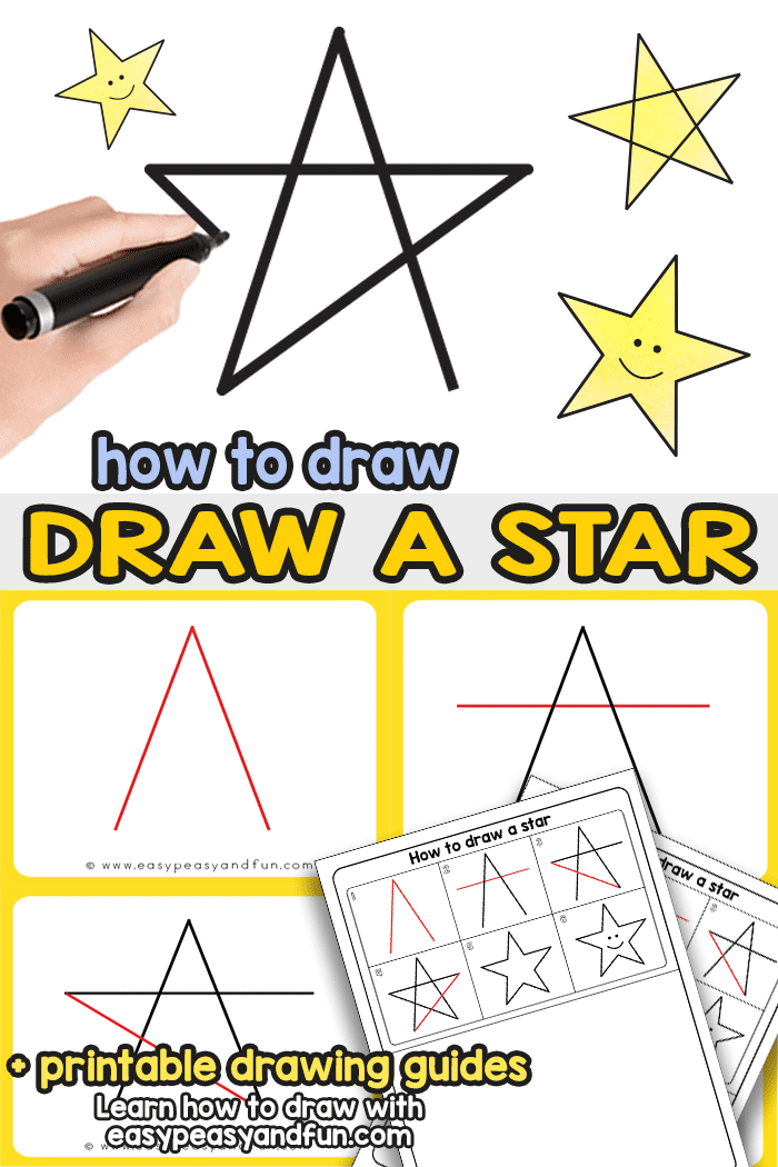 700x1050 How To Draw A Star