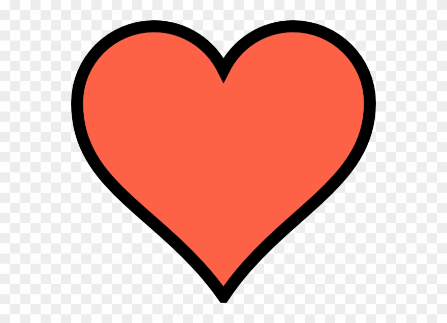 880x637 Perfect Heart Drawing Clipart