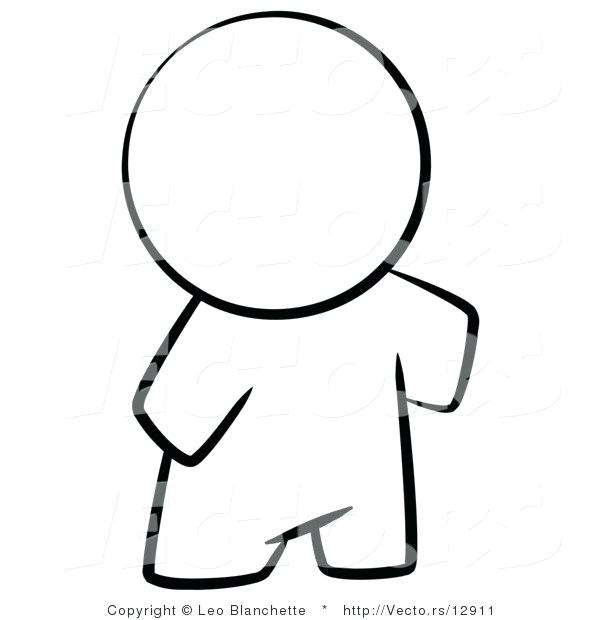 600x620 outline of a person human body outline printable outline person