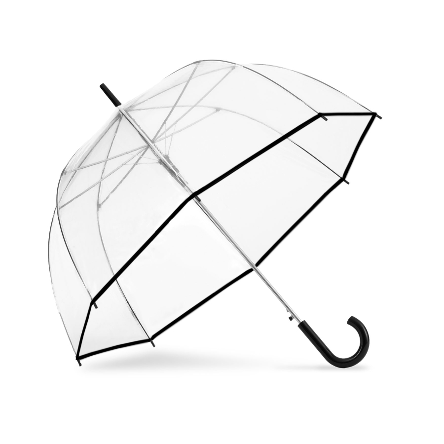 Person Holding Umbrella Drawing