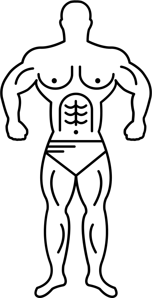 Person Outline Drawing | Free download best Person Outline