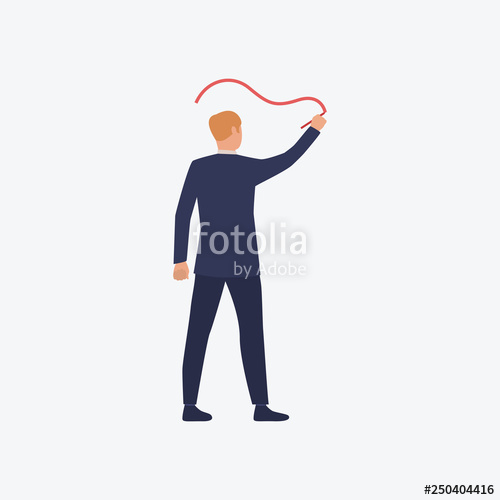 500x500 lecturer standing and drawing line stock image and royalty free