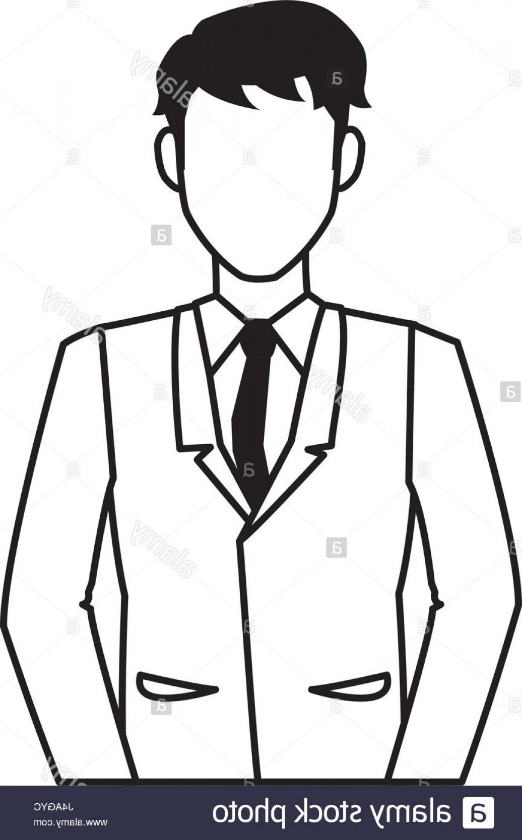 1036x1668 Person Thinking Vector Outline Stock Photo Sohadacouri