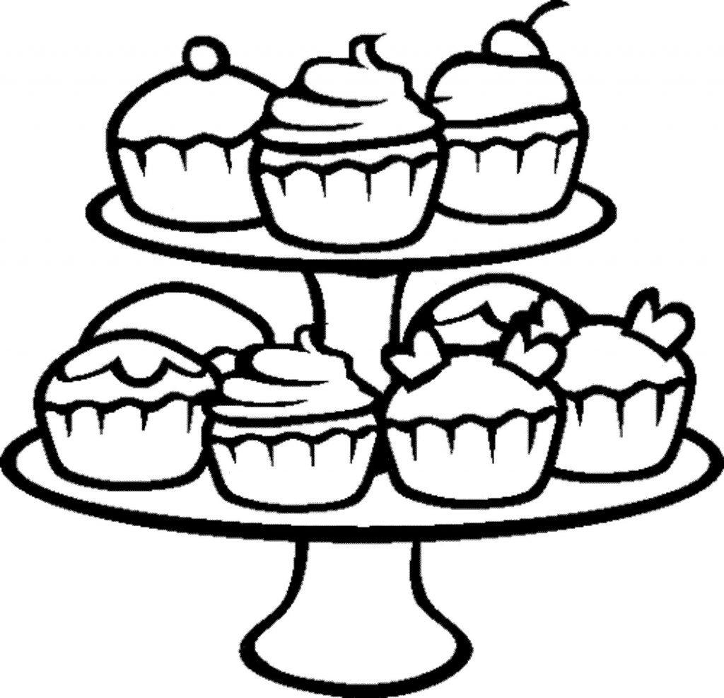 1024x987 Cute Dessert Drawings Kawaii Easy Step