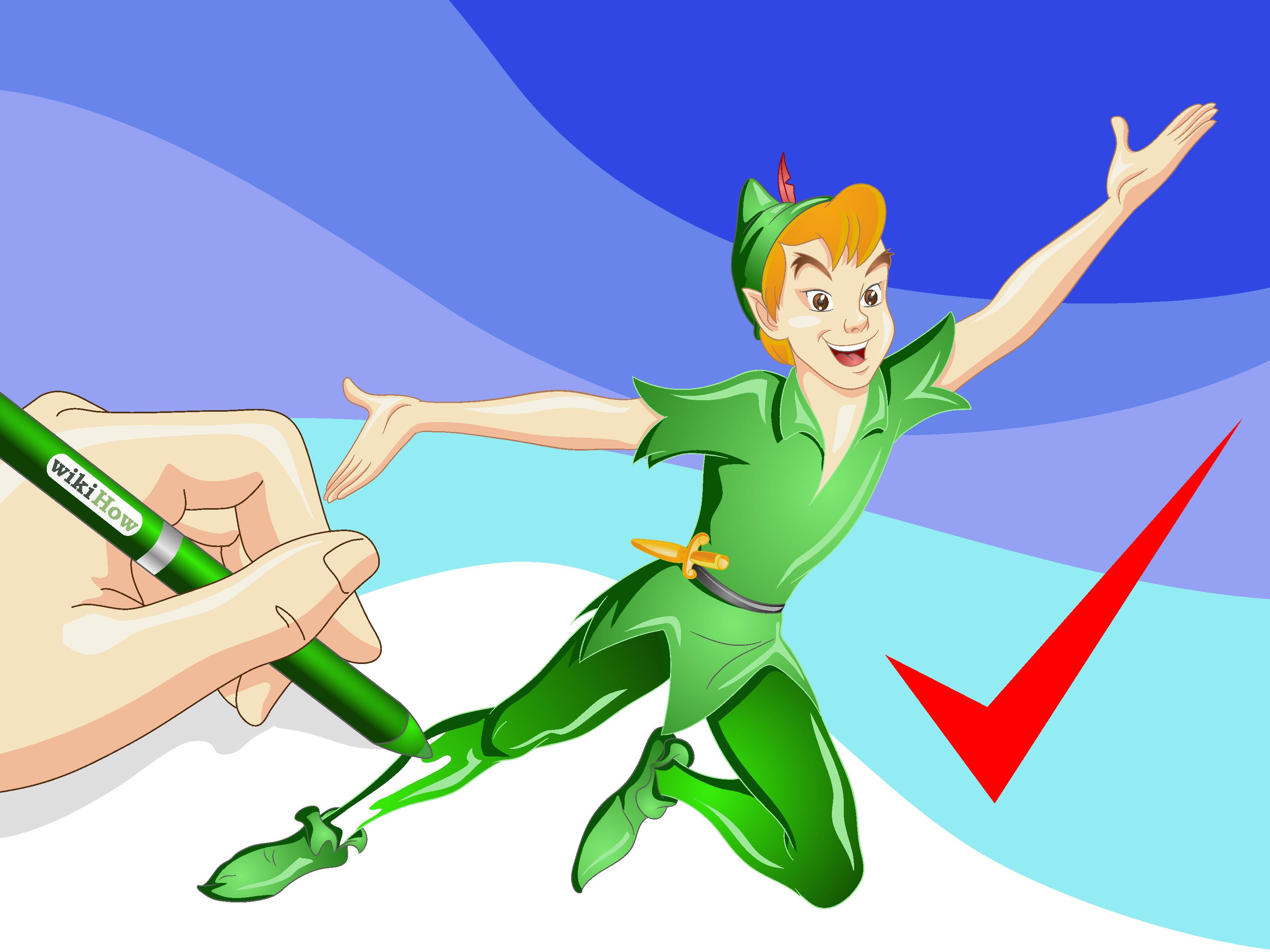 3200x2400 peter pan sketch drawing and how to draw peter pan steps