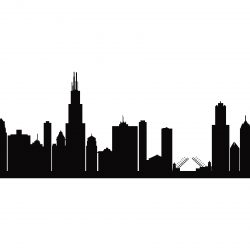 250x250 Skyline Drawing London Chicago City Simple Easy How