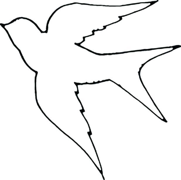 618x615 bird outline flying bird outline clip art dove bird outline images