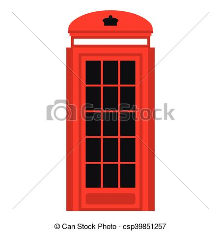 450x470 phone booth icon, flat style phone booth icon in flat style