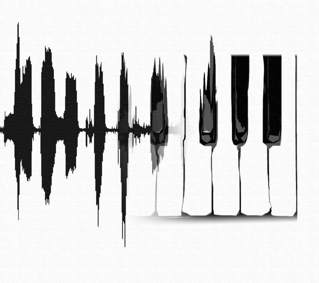 1024x909 Excellent Piano Keys Tattoos Drawings