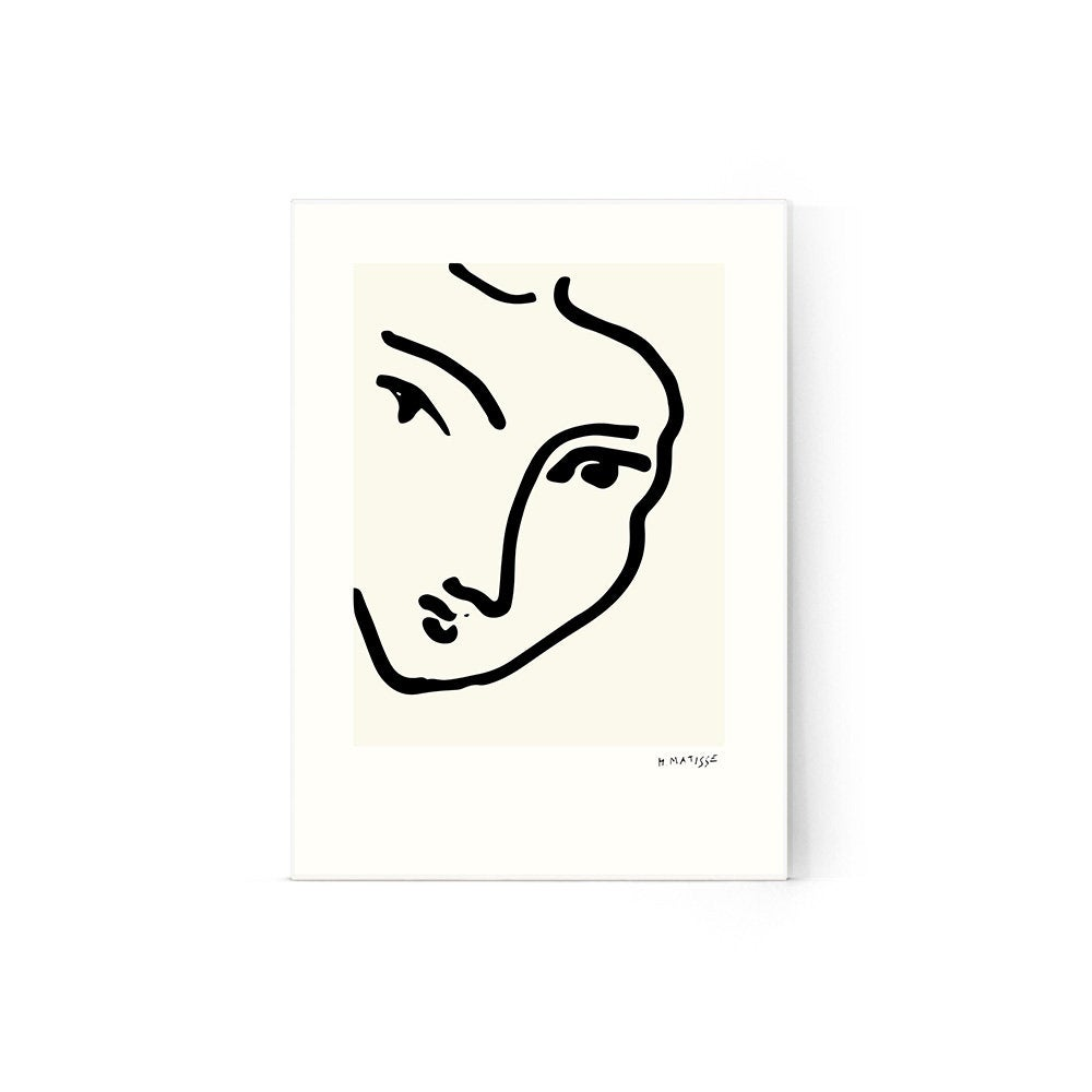 1000x1000 matisse woman face poster matisse wall print woman face etsy