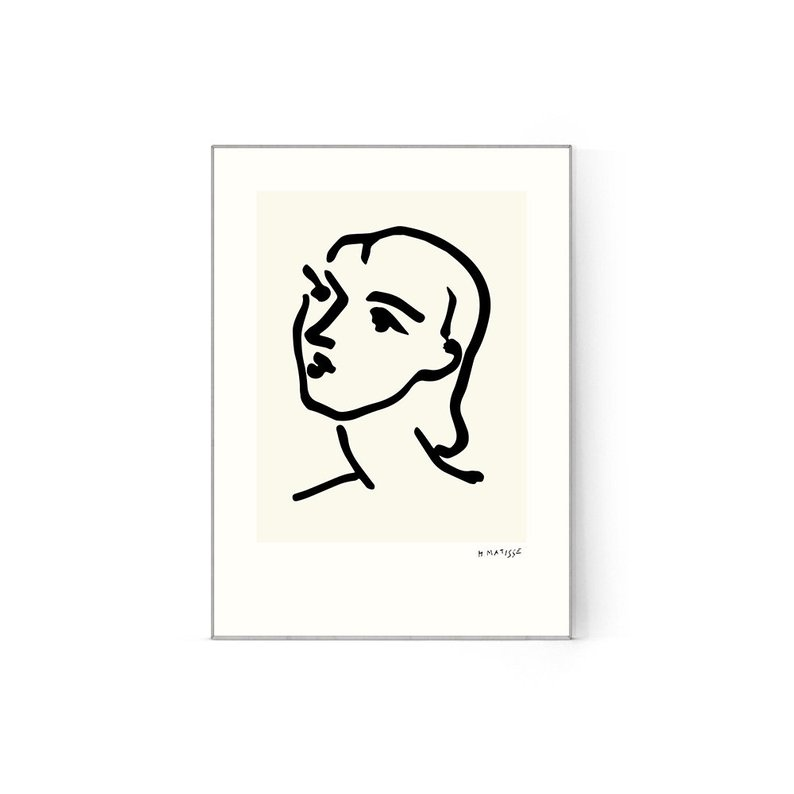 794x794 matisse woman face print matisse wall art abstract woman etsy