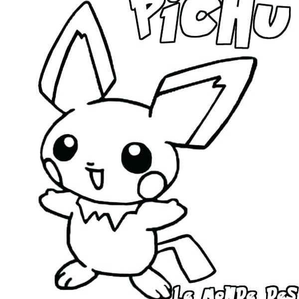 Pichu Drawing Free Download Best Pichu Drawing On