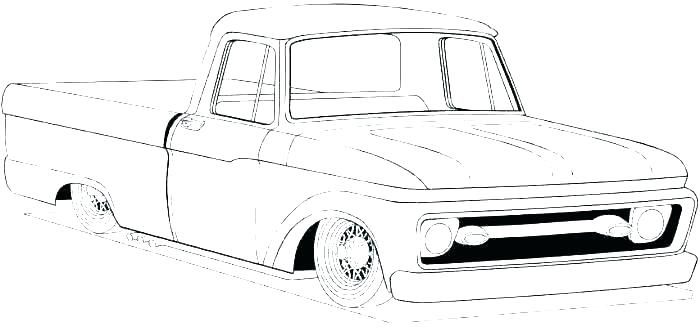 700x331 pickup truck coloring pages lowrider truck coloring pages truck