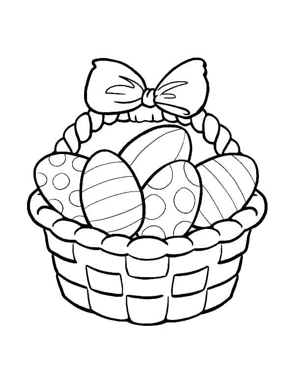 600x776 Fruit Basket Coloring Pages Picnic Basket Coloring