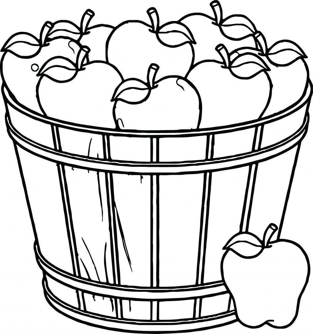 1024x1095 Picnic Basket Coloring
