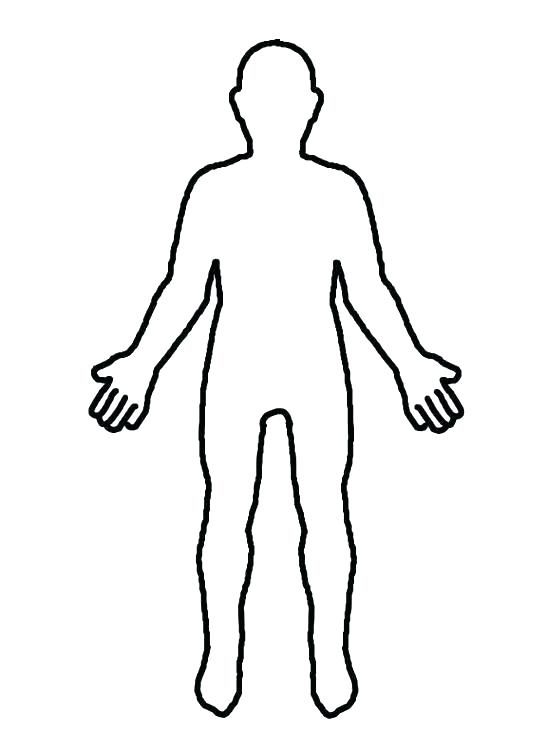547x752 outline of a person human body outline printable outline person