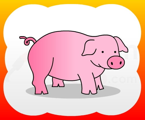 503x415 Huge Collection Of 'pig Drawing For Kids' Download More Than